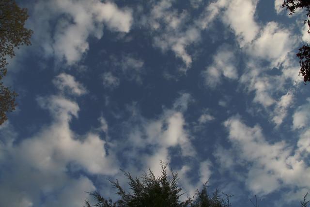 clouds, 042310, Wakefield, MA