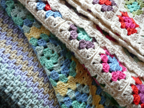 Crochet blanket love...