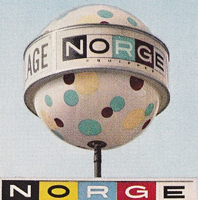 NORGE Ball Sign 1965