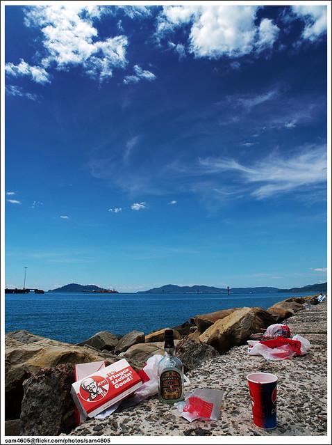 Kecantikan Kota Kinabalu yang Tercemar