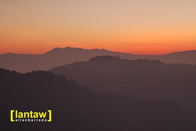 Mountain Layers in Sunrise