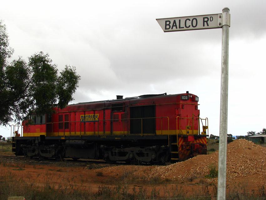 Balco Locomotive, Bowmans - South Australia by baytram366