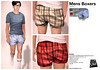 Mens Boxer Shorts Pack 2