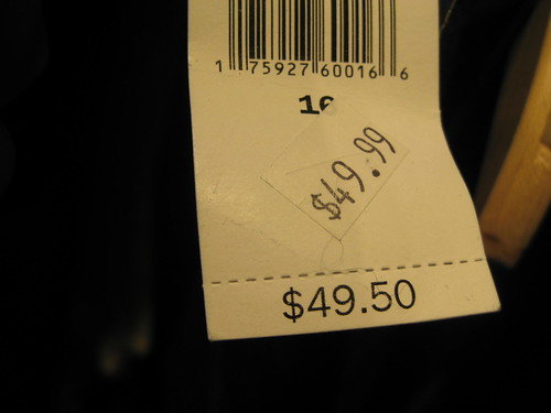 """Does """"sale"""" mean lower prices or does it mean """"get outta here""""?"""