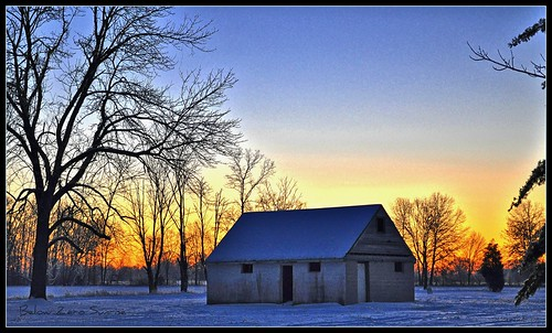 winter ohio sunrise 2009 hdr potofgold blueribbonwinner bej skycloudssun dmoutray
