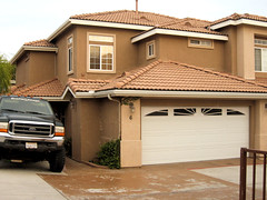 garage door, garage, wood, roof, property, estate, siding, residential area, real estate, facade, home,