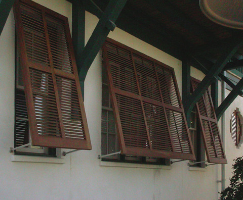 Good Millwork Exterior Louvered Shutters Flickr Photo Sharing