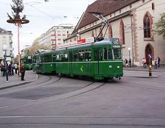 Basel, Bale, Switzerland Trams