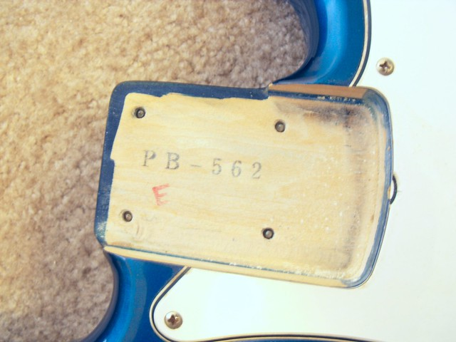 Photo:Fender CIJ P-Bass Neck Pocket By Tim Patterson