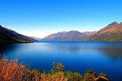 Lake Wakatipu and The Remarkables 5 Feb 2007
