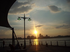 The Pier NYC @ Sunset