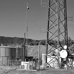 Radio Transmitter on top of Coyote Peak