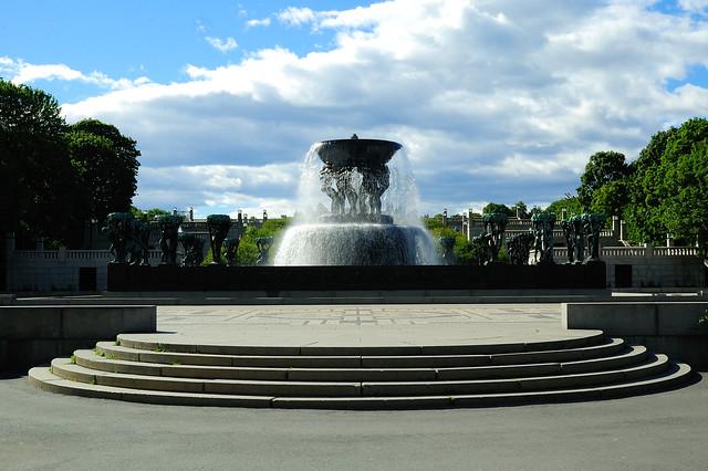 Parque de Vigeland, Frognerparken, Oslo, Noruega.