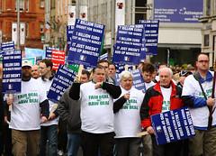 ICTU protest, Dublin 21-Feb-09