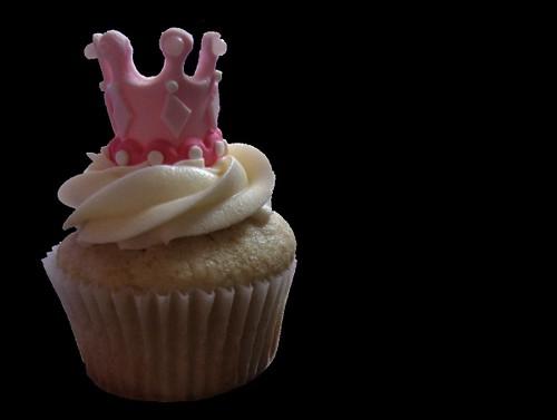 Pink Princess Crown Cupcake Flickr Photo Sharing