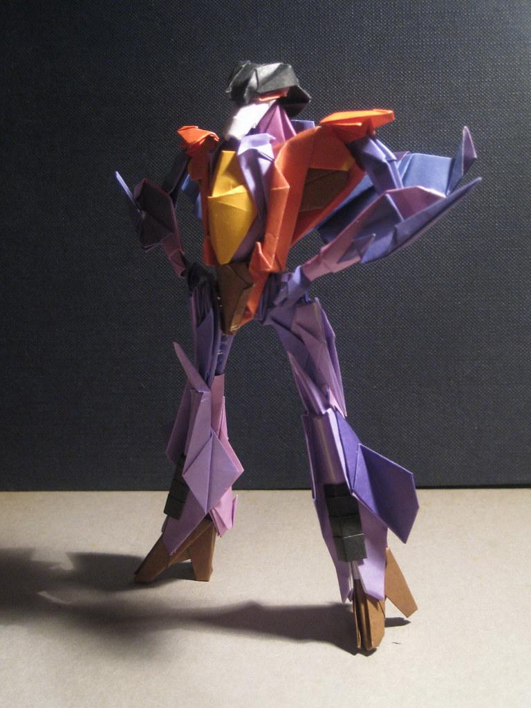 Origami rxmans most recent flickr photos picssr starscream03 jeuxipadfo Images