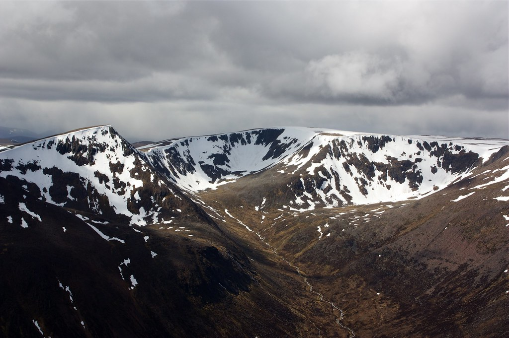 The Angel's Peak and Braeriach