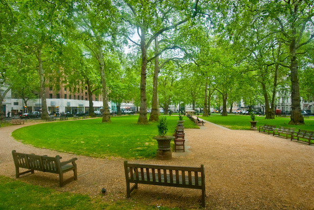 Berkeley Square Gardens, London