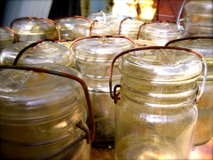pickling, mason jar, food preservation, canning, lighting,