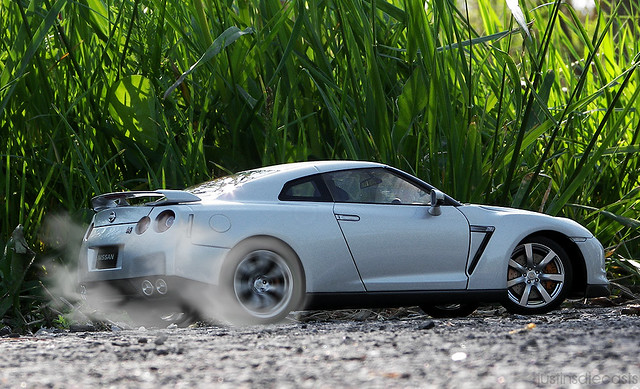 Nissan Gt R Burnout Flickr Photo Sharing
