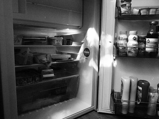 Inside fridge no. 1