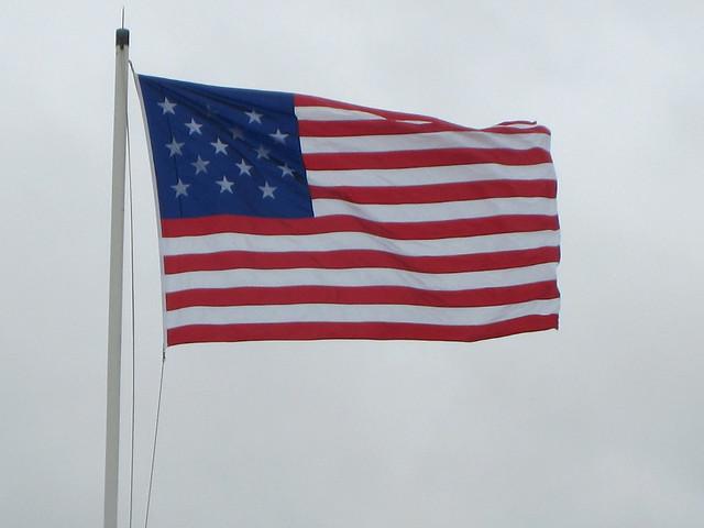 Star spangled banner flag 1812
