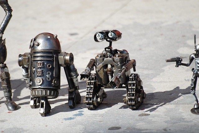 (not Cars but wall e)  I read that wall e was in star wars and this is what i found. Is it real?