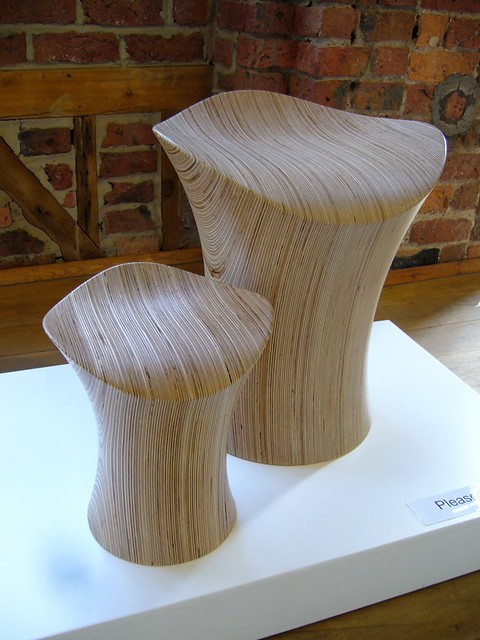 Stingray Stool III and Stingray Stool Junior III, ODEChair by Jolyon Yates