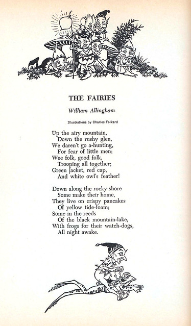 the fairies by just william allingham
