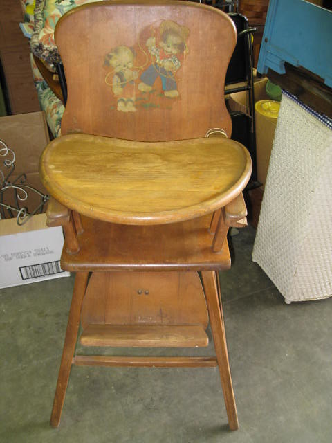 Old Fashioned Wooden Folding Chairs