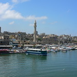 The Port at Sidon, Lebanon