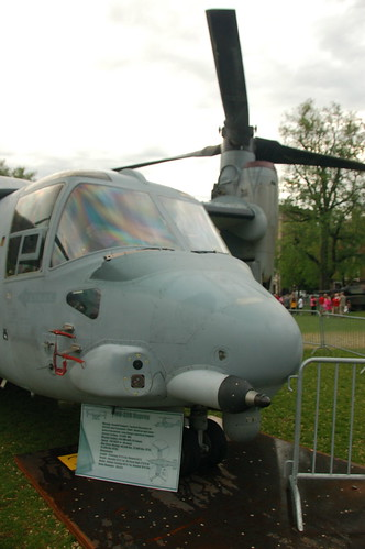 Marine Week Boston, 2010: Bell-Boeing MV-22B Osprey nose view