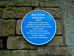 Photo of Joseph Crowther blue plaque