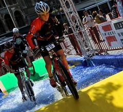 Red Bull- City Mountain Bike Challenge 2011-Antwerp Belgium.