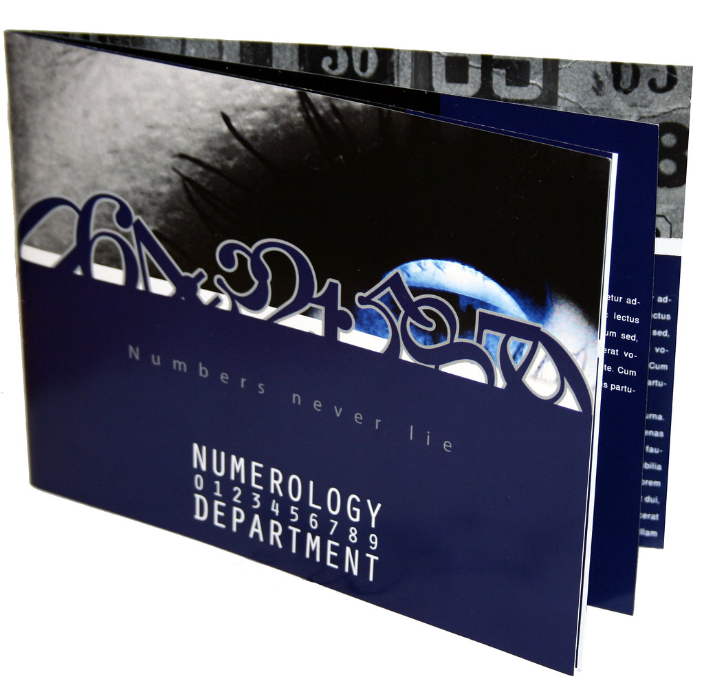 Brochure for Numerology Department
