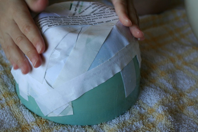 bowl for paper mache