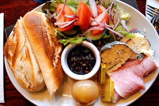 A Ploughman's Lunch At The Bull In Barkham