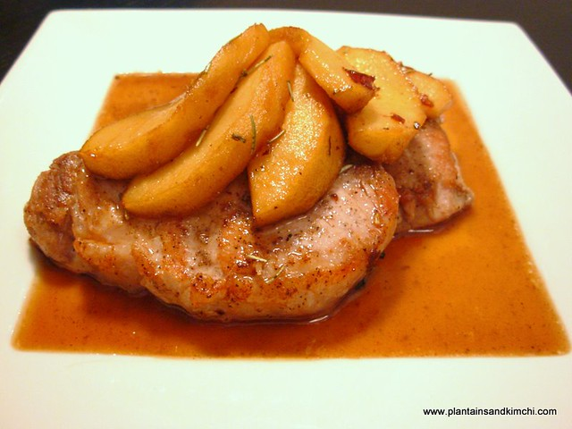 Maple Glazed Pork Tenderloin with Apples | There was a nice ...