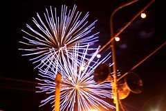 recreation(0.0), outdoor recreation(0.0), sparkler(0.0), fireworks(1.0), event(1.0), new year(1.0), new year's eve(1.0), night(1.0),