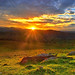 Sunset in Blue Mountains by -yury-