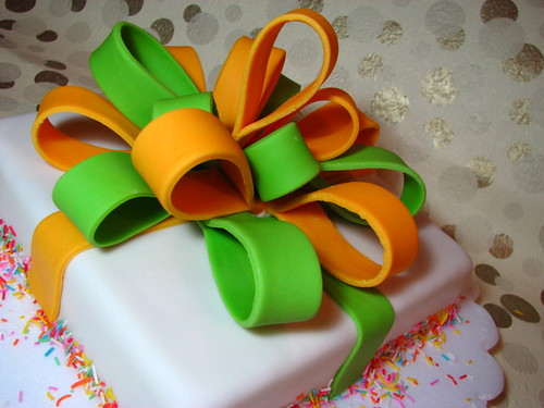 Another Gift Box Cake