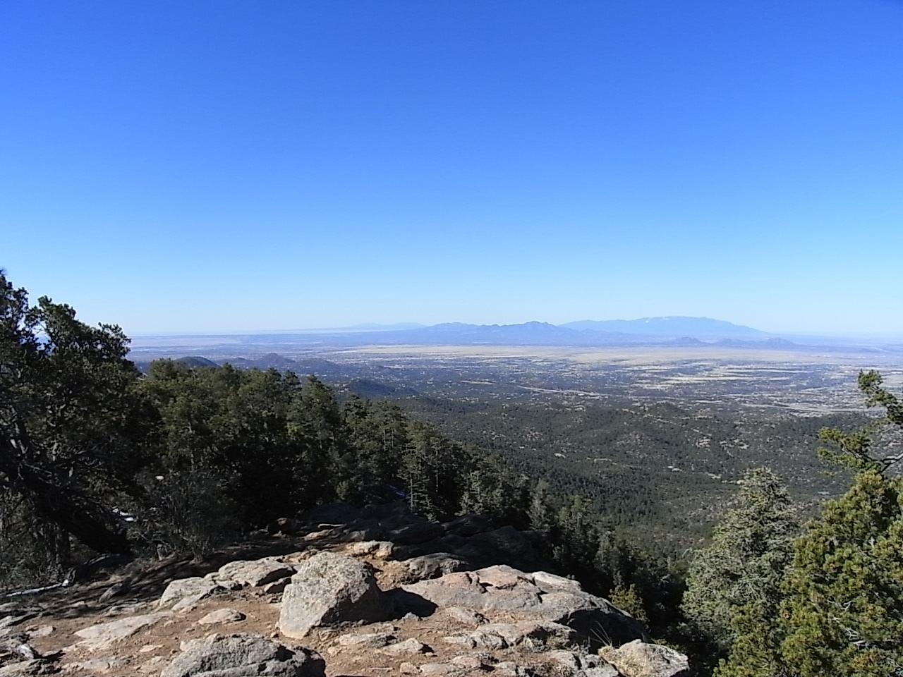 Altitude Of Santa Fe Nm >> Elevation Of Thompson Peak New Mexico Usa Topographic