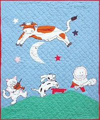 HEy Diddle Diddle Quilt for Baby Nursery