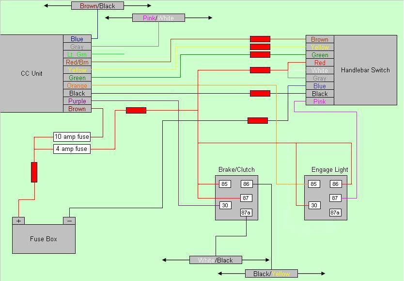 Rostra Cc Wiring Diagram And Dipswitch Settings For Dl650