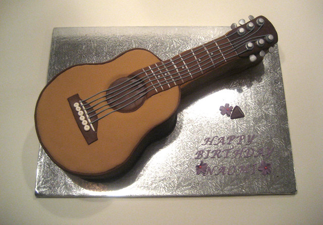 Guitar Cake Pictures : Acoustic Guitar Cake Flickr - Photo Sharing!