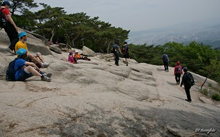 Bild av  Madangbawi. mountain rock nationalpark dobongsan sal1680z sonya350 madangbawi