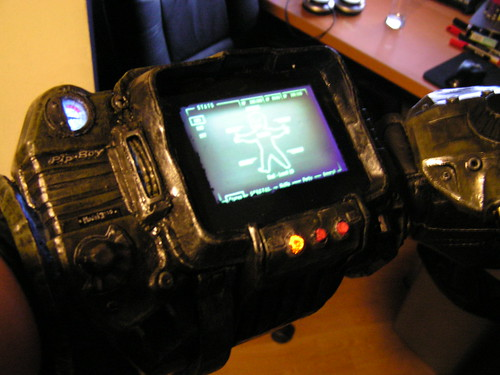 My older non-working Pip-Boy 3000