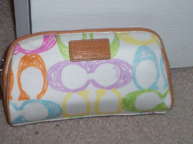 coach bag clearance outlet  my coach makeup bag