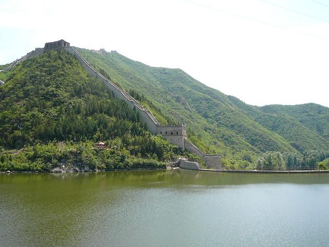 Gran Muralla China en Huanghua Cheng