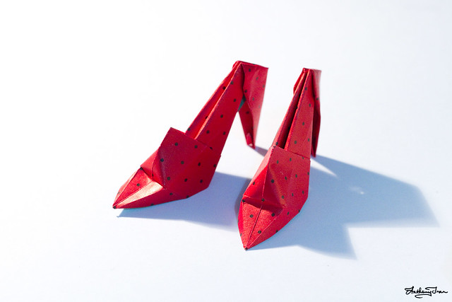 high heel shoes origami instructions high heel sandals